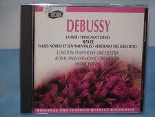Debussy: La Mer, Trois Nocturnes Ravel: Valses Nobles André Previn 1993 CD EMI