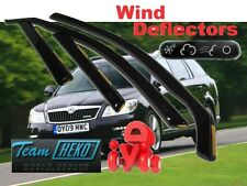 SKODA OCTAVIA MK2  2004 - 2013  ESTATE / WAGON  Wind deflectors 4.pc HEKO 28318