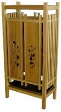 Japanese Wooden Umbrella Stand made by a Japanese folding screen craftsman.