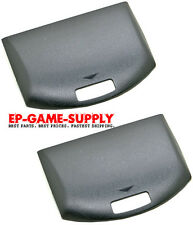 2x Battery Door Back Cover for Sony PSP 1000 1001 Replacement Original Black