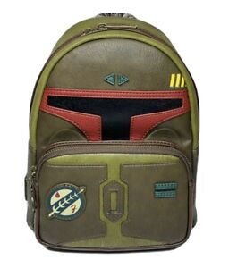 Loungefly Star Wars Boba Fett Cosplay Mini Backpack Brand New with Tags!