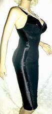 New listing 40 Dd Ddd Vtg Nylon Spandex Satin Shaper Lace Body Girdle Bra Full Slip