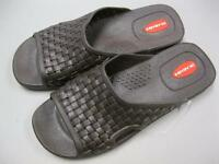 Okabashi Torino Slide Men's Brown Sandals NEW MADE IN USA