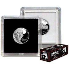 (10) BCW (2 x 2) COIN SNAPS - NICKEL - BLACK