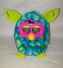 2013 Hasbro Furby Boom Blue/Green Peacock Working