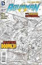 Aquaman #23 Variant New 52 Dc Comics High Grade 1st Print Near Mint to Nm+