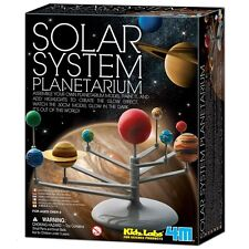 Solar System Planetarium Model Kids Glow In The Dark Science Kit