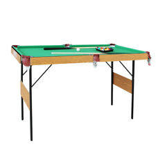 "55"" Folding Billiard Table Pool Table Modern Space Saving Pool Billiard Table"