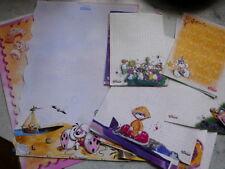 48 St verschiedene Diddl Blockblätter ,von 15 x 15 bis Din A4,  ab 1999