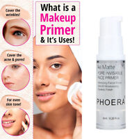 PHOERA Primer Makeup Base Oil Control Pores Cream Primers Foundation Moisturizer