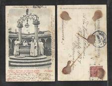 1905 ITALY FIRENZE CERTOSA POZZO nel CHIOSTRO GRANDE UDB UNDIVIDED BACK P-CARD