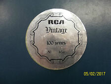 RCA VINTAGE 100 SERIES STICKER WITH NUMBER RECORD PLAYER TURNTABLE RADIOGRAM