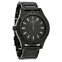 Original New Nixon A3431150 The Camden All Black Black PVD 41-MM Analog Watch