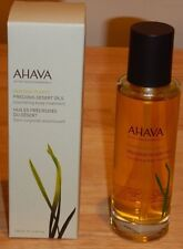Ahava Deadsea Plants Precious Desert Oils Nourishing Body Treatment 3.4 Oz NIB