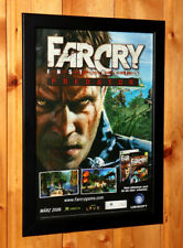 Far Cry Instincts Predator Small Poster / Old Ad Page Framed Xbox 360 Ubisoft