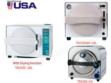 Dental Autoclave Steam Sterilizer Medical Sterilization 14L/18L Lab Equipment