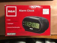 Rca Rcd20A Digital Alarm Clock