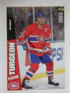 1996-97 Upper Deck Collector's Choice #133 Pierre Turgeon Montreal Canadiens