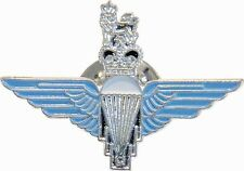 NEW ENAMELED METAL PARACHUTE REGIMENT WINGS CAP BADGE FOR BERET,TIE PIN,CAP,PARA