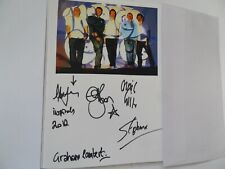 More details for inspiral carpets autographed 8 x 6 album page. signed by 5 inc craig gill.