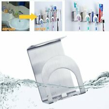 Bathroom Toothbrush Toothpaste Wall Mount Holder Sucker Suction Cup Organizer Y1