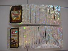 2014 TOPPS WACKY PACKAGES CHROME - COMPLETE ATOMIC REFRACTOR SET OF 110 CARDS