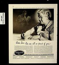 1943 Rhinelander Protective Packaging Vintage Print Ad 20170