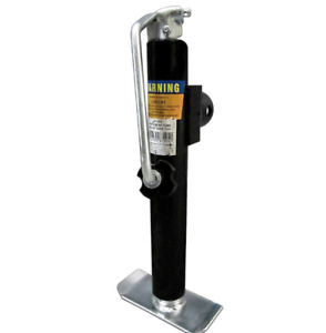 Tube Mount Trailer Car Jack Top Wind 2000 lb. Lift Capacity 10 inch Weld on