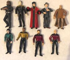 Star Trek Action Figures Lot 1994 Playmates, Some Rare