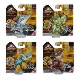 Jurassic World Snap Squad Wave 6 set of 4 Pcs Figure