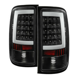 GMC 07-13 Sierra 1500 07-14 2500HD 3500HD Black LED Tail Brake Lights Set G2