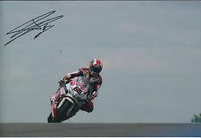 Jonathan REA SIGNED PATA HONDA Autograph 12x8 Photo AFTAL COA World Superbike