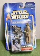 STAR WARS CARDED SAGA ATTACK OF THE CLONES AOTC TUSKEN RAIDER WITH MASSIFF