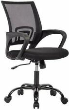 Office Chair Executive Home Computer Desk Seat Task Adjustable Swivel Mesh Black