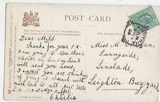 Miss M Coleman Sunnyside Linslade Leighton Buzzard 1904  323a