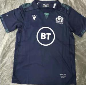 New Hot Scotland RUGBY WORLD CUP HOME Man SHIRT 2020 RWC ADULT JERSEY