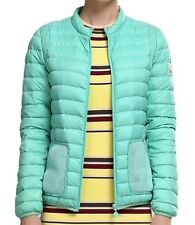 REI Quilted Puffer Ski Jacket Vest Zip Snowboard Primaloft Green/Blue Medium