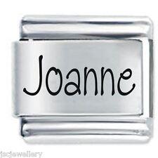 JOANNE Name - Daisy Charm by JSC Fits Classic Size Italian Charms Bracelet
