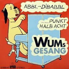 "7"" WUM'S GESANG Abbl-Di-Babbl LORIOT WIM TOELKE 3x9 ARIOLA orig. 1971 NEUWERTIG!"