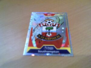signed southampton match attax badge of harrison reed