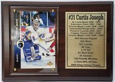 St. Louis Blues Curtis Joseph Hockey Card Plaque