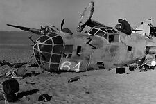 #144 B-24 Liberator LADY BE GOOD Crash Libya Professional Studio Photo 8x12