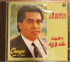 arabic egypt pop CD - ahmed adaweya - change ghayer ghayer- made in france OOP