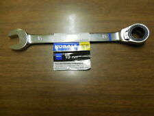 Kobalt 15mm Metric 12pt Reversible Ratchet Combo Wrench *FREE SHIPPING*