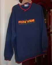 M Ladies Womens Disney Winnie Pooh Bear Outdoor Dreams Sweatshirt Shirt Blue LS