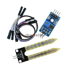 5PCS Soil Hygrometer Detection Module Soil Moisture Sensor For arduino Smart car