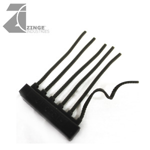 Zinge Industries Flexible Resin 6 Small Ammo Belts Linked Block Bits S-ABS02