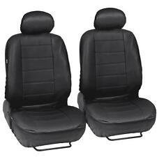 ProSynthetic Black Leather Auto Seat Covers for Hyundai Elantra