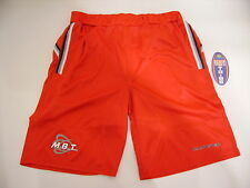 PANTALONCINO MBT BEACH TENNIS ROSSO TRE RIGHE TG M