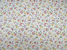 Cottage Garden Pink Flower Polycotton Prints Craft/dress Fabric by 25m Roll